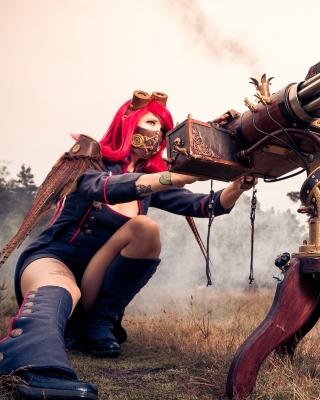 Fallout 4 cosplay costume - Obrázkek zdarma pro 352x416