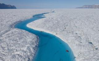 Обои Greenland Glaciers для андроид