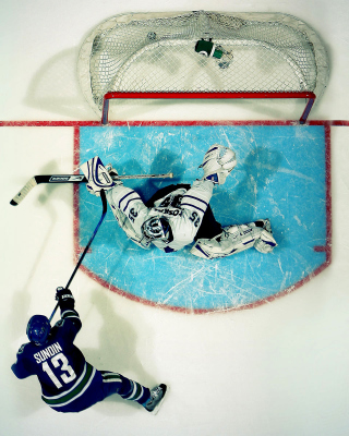 Vancouver Canucks Goal and Goalkeeper - Fondos de pantalla gratis para LG T325 Cookie