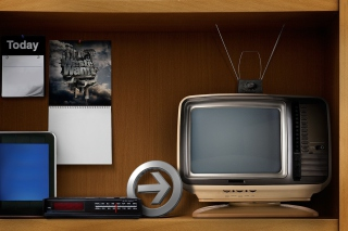 Vintage Televisions Wallpaper for Android, iPhone and iPad