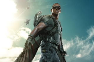 The Falcon Captain America The Winter Soldier - Obrázkek zdarma pro Widescreen Desktop PC 1600x900