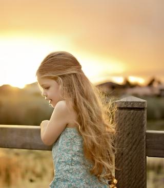Little Angel Blonde Girl - Obrázkek zdarma pro Nokia Asha 501