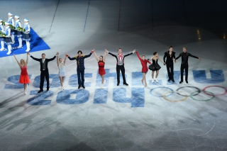 Sochi 2014 XXII Olympic Winter Games Wallpaper for Android, iPhone and iPad