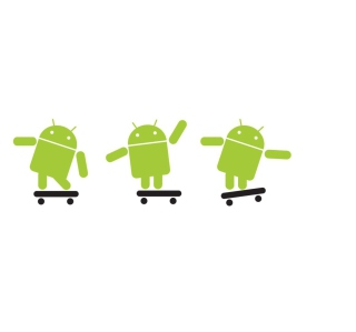 Android Skater - Obrázkek zdarma pro 1024x1024