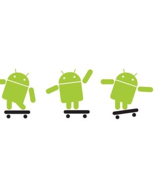 Android Skater - Obrázkek zdarma pro Nokia Asha 309