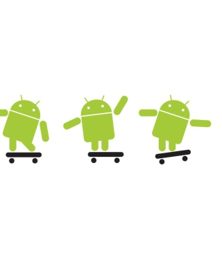 Android Skater - Obrázkek zdarma pro 750x1334