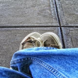 Old Shoes - Obrázkek zdarma pro 2048x2048