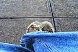 Old Shoes - Obrázkek zdarma pro 1280x800