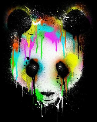 Crying Panda - Obrázkek zdarma pro Nokia Asha 503