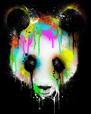 Crying Panda - Obrázkek zdarma pro 360x400