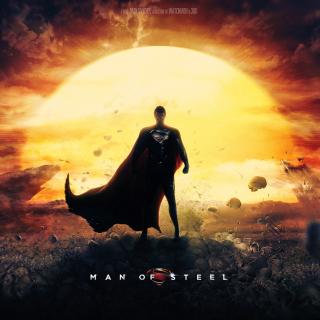 DC Comics - Man of Steel - Obrázkek zdarma pro 1024x1024