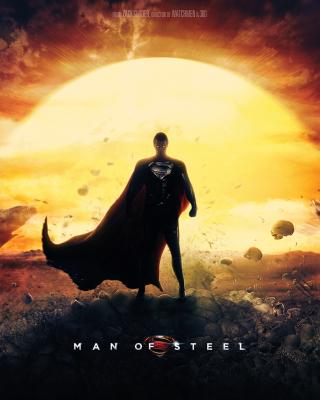 DC Comics - Man of Steel - Obrázkek zdarma pro Nokia C6-01