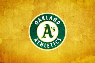 Oakland Athletics - Obrázkek zdarma pro 176x144