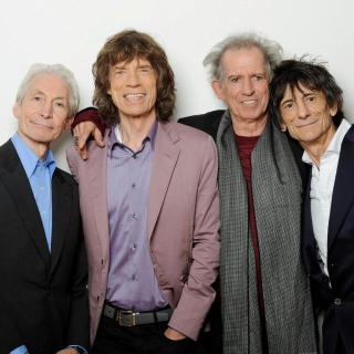 Rolling Stones, Mick Jagger, Keith Richards, Charlie Watts, Ron Wood - Obrázkek zdarma pro iPad mini 2