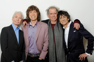 Rolling Stones, Mick Jagger, Keith Richards, Charlie Watts, Ron Wood - Obrázkek zdarma pro Widescreen Desktop PC 1680x1050