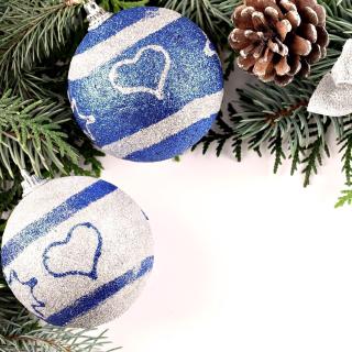 Christmas Tree Balls - Obrázkek zdarma pro 320x320