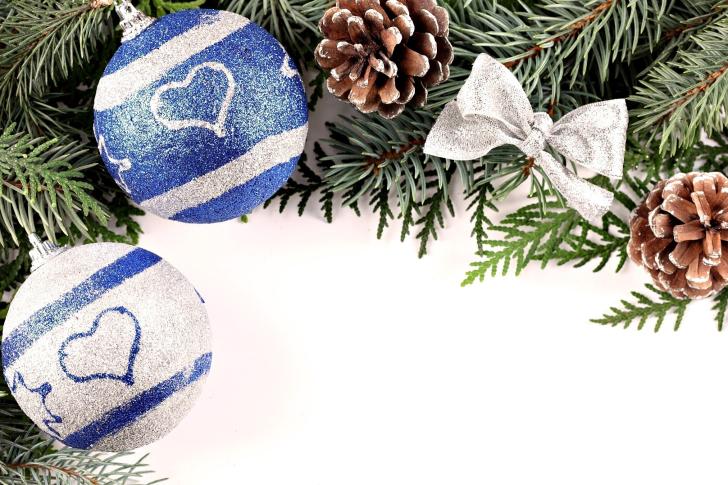 Christmas Tree Balls wallpaper