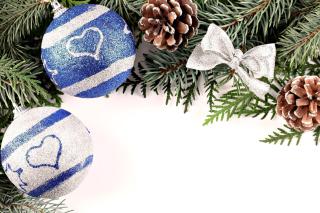Christmas Tree Balls - Obrázkek zdarma pro Nokia XL