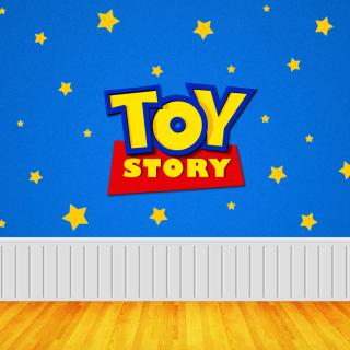 Toy Story Logo - Obrázkek zdarma pro 320x320