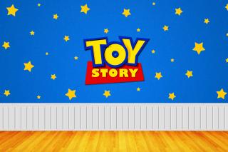 Toy Story Logo - Obrázkek zdarma pro 1366x768