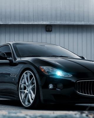 Maserati GranTurismo HD - Obrázkek zdarma pro iPhone 4