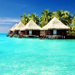 Maldives Islands best Destination for Honeymoon - Obrázkek zdarma pro 128x128
