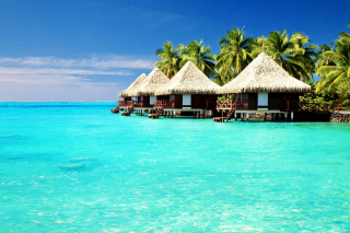 Maldives Islands best Destination for Honeymoon - Obrázkek zdarma pro Desktop Netbook 1366x768 HD