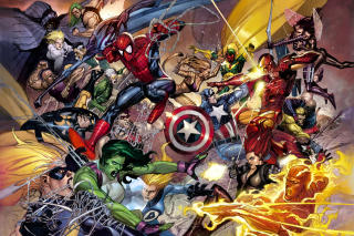 Marvel Civil War Wallpaper for Android, iPhone and iPad