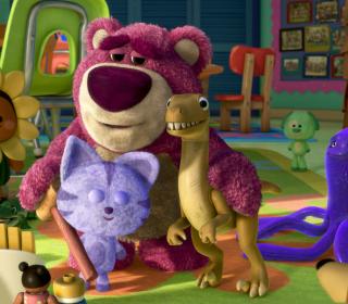 Toy Story 3 Bear - Obrázkek zdarma pro iPad