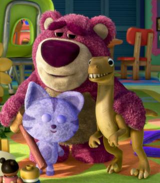 Toy Story 3 Bear - Obrázkek zdarma pro Nokia 206 Asha