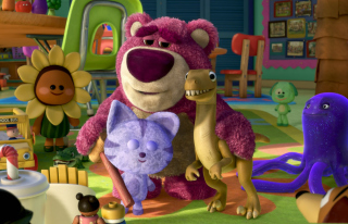 Toy Story 3 Bear - Obrázkek zdarma pro Nokia C3