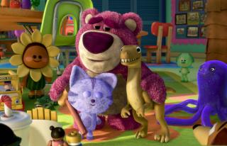 Toy Story 3 Bear - Obrázkek zdarma pro 480x360