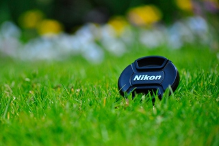 Nikon Lense Cap Wallpaper for Android, iPhone and iPad