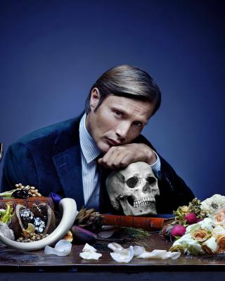 Hannibal 2013 TV Series - Obrázkek zdarma pro Nokia Asha 203