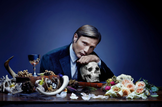 Hannibal 2013 TV Series - Obrázkek zdarma pro Nokia Asha 200