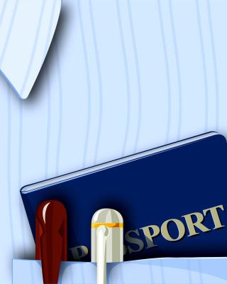 Passport Clip Art - Obrázkek zdarma pro 240x320
