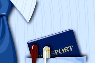 Passport Clip Art - Obrázkek zdarma pro Sony Xperia Tablet S