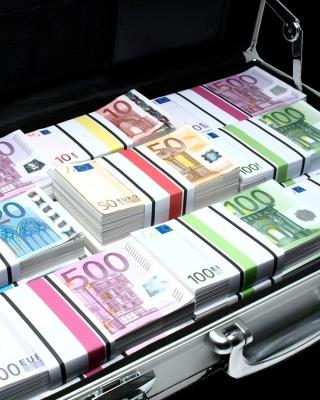 Bundle Of Euro Banknotes - Obrázkek zdarma pro Nokia Asha 503