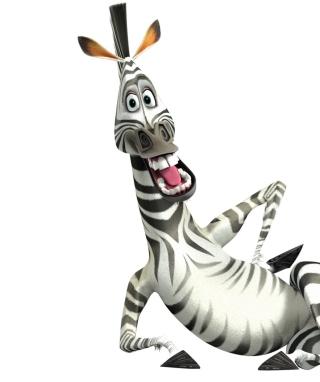 Zebra - Madagascar 4 - Obrázkek zdarma pro Nokia Asha 306