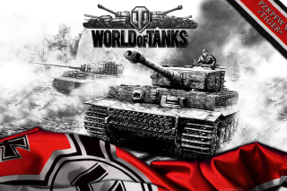 World of Tanks with Tiger Tank Picture for Android, iPhone and iPad