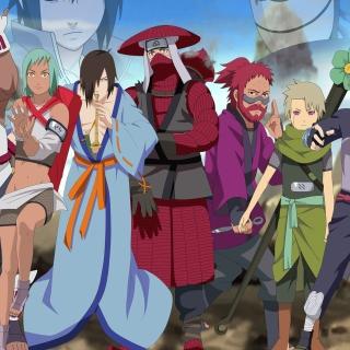 Naruto Shippuden, Jinchurikis, Uchiha, Tobi, Obito - Obrázkek zdarma pro 1024x1024