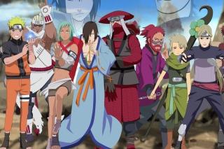 Naruto Shippuden, Jinchurikis, Uchiha, Tobi, Obito - Fondos de pantalla gratis para Nokia Asha 201