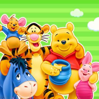 Winnie the Pooh - Obrázkek zdarma pro 128x128