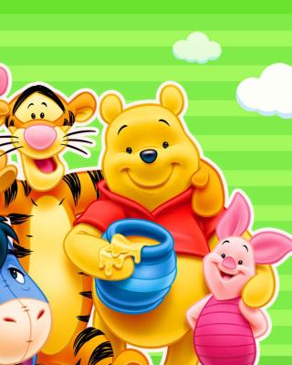 Winnie the Pooh - Obrázkek zdarma pro Nokia Asha 502