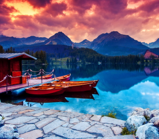 Lake In Canada - Obrázkek zdarma pro iPad Air