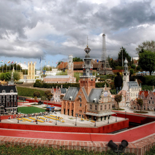 Belgium Mini Europe Miniature Park - Obrázkek zdarma pro iPad