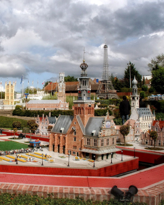 Belgium Mini Europe Miniature Park - Obrázkek zdarma pro 480x640