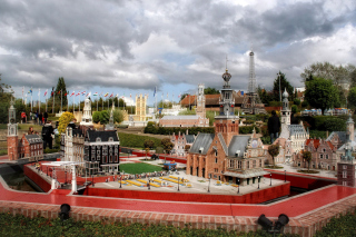 Free Belgium Mini Europe Miniature Park Picture for Android, iPhone and iPad