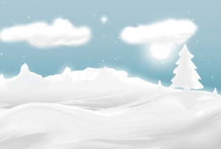 Free Winter Illustration Picture for Android, iPhone and iPad