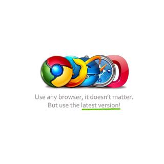 Choose Best Web Browser - Obrázkek zdarma pro iPad mini